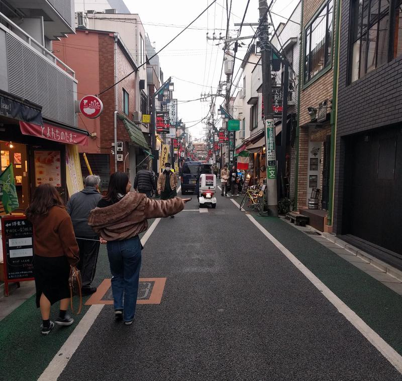 Typically narrow shopping street in Shimo-Kitazawa, Tokyo